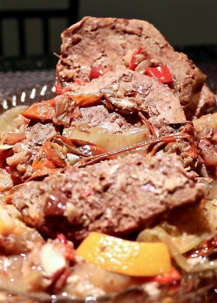 Crockpot Cranberry-Raspberry Chipotle Pork Roast-Homemade Food Junkie