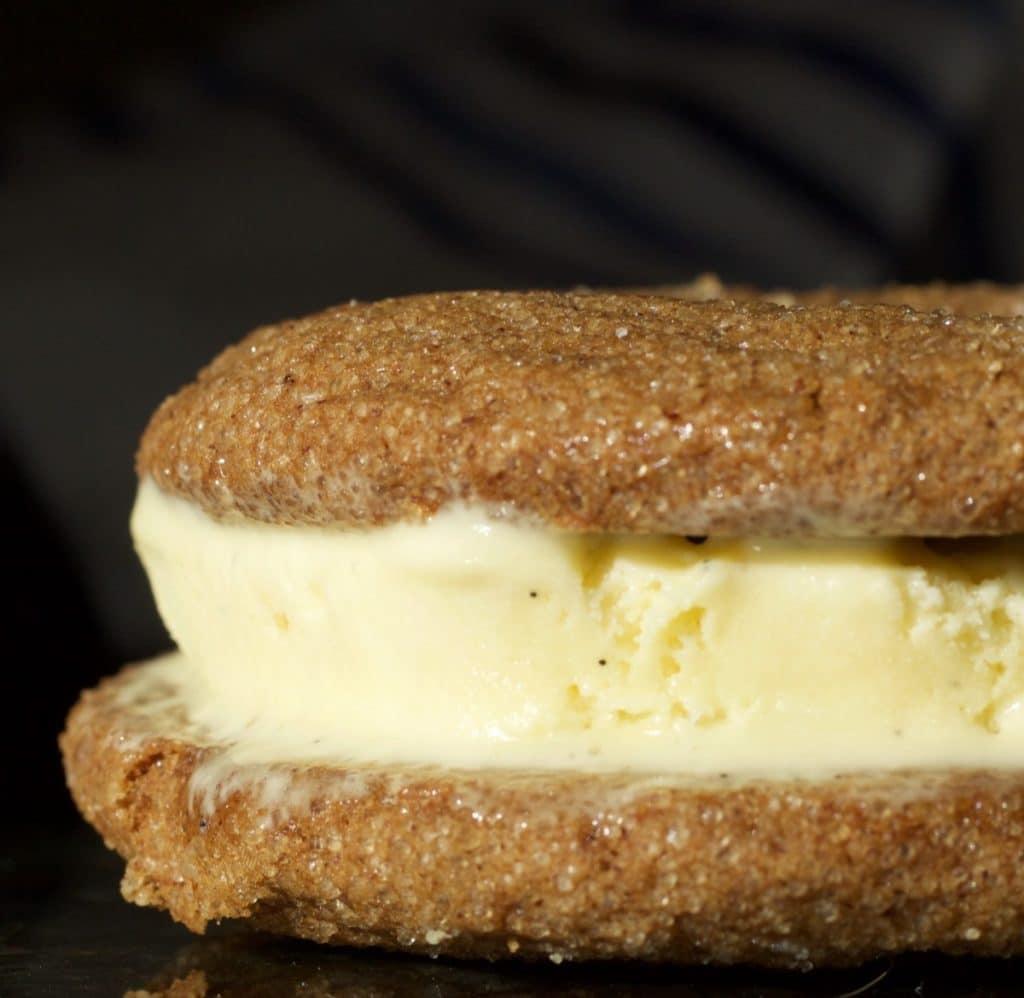 Gingerbread Ice Cream Sandwich | Homemade Food Junkie
